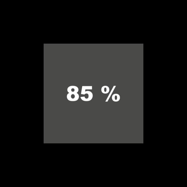 Grau 85%