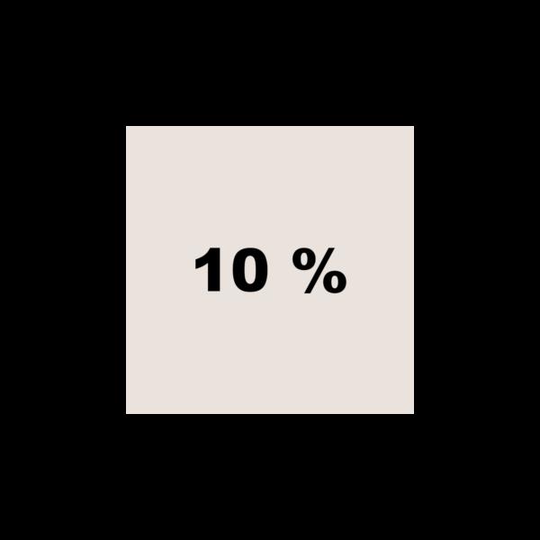 Braun 10%