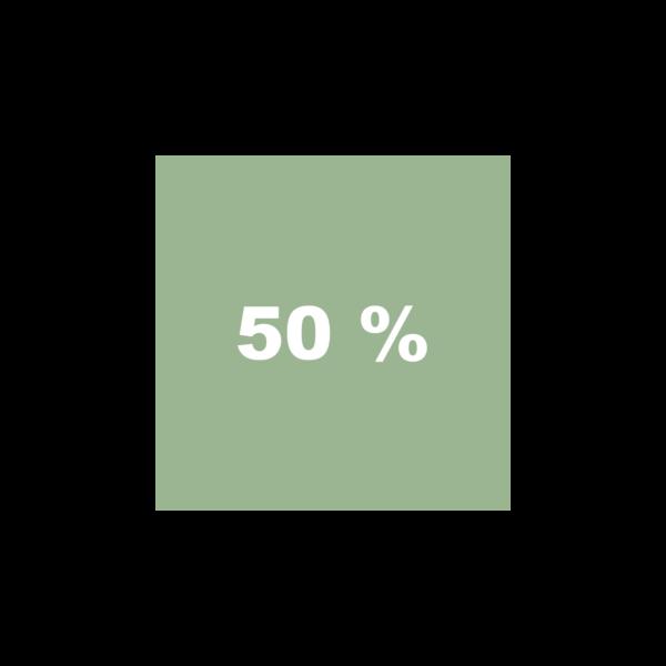 Pilotengrün 50%