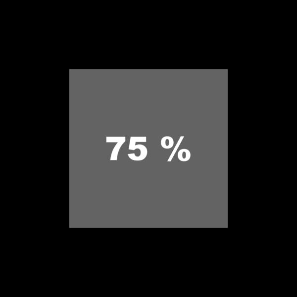 Grau 75%