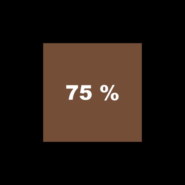 Braun 75%
