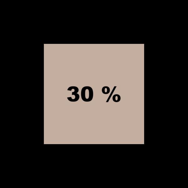 Braun 30%