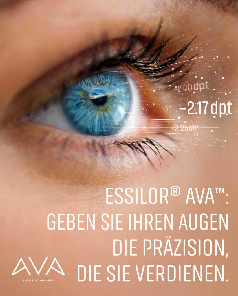 Essilor Ava Glaeser Brillen Sehen Augen Optiker Optik Wolf